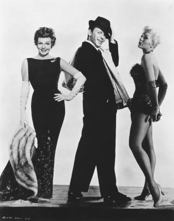 Rita Hayworth, Frank Sinatra, Kim Novak