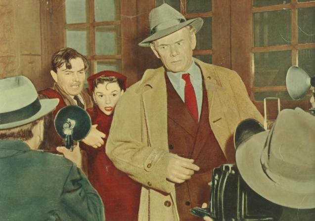 James Mason, Judy Garland, Charles Bickford