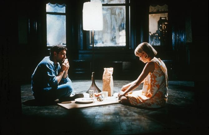 Mia Farrow, John Cassavetes