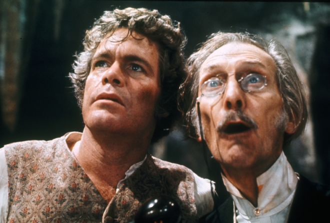 Doug McClure, Peter Cushing