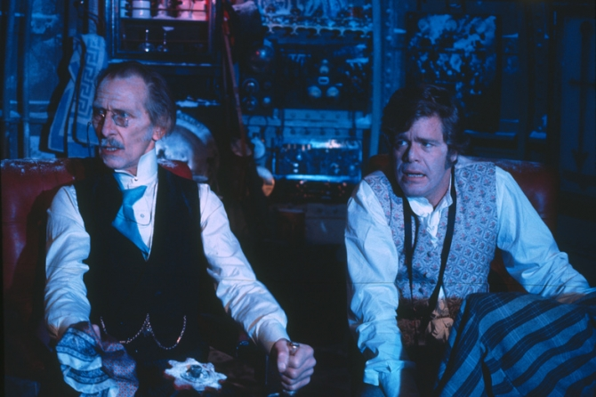 Peter Cushing, Doug McClure