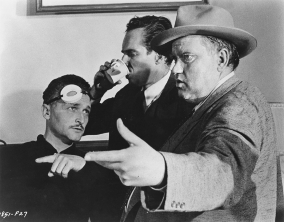 Orson Welles, Charlton Heston