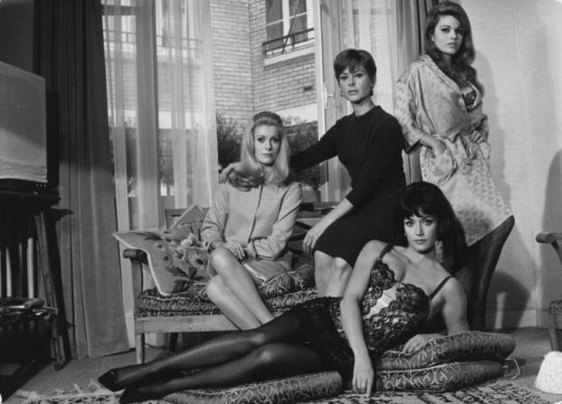 Catherine Deneuve, Geneviève Page, Maria Latour, Françoise Fabian