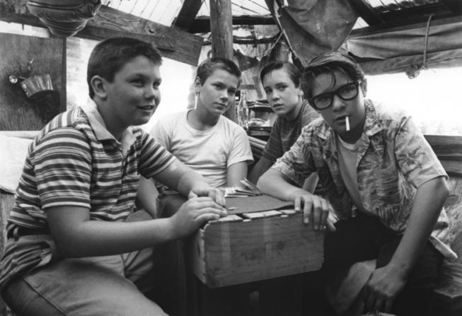Jerry O'Connell, River Phoenix, Wil Wheaton, Corey Feldman