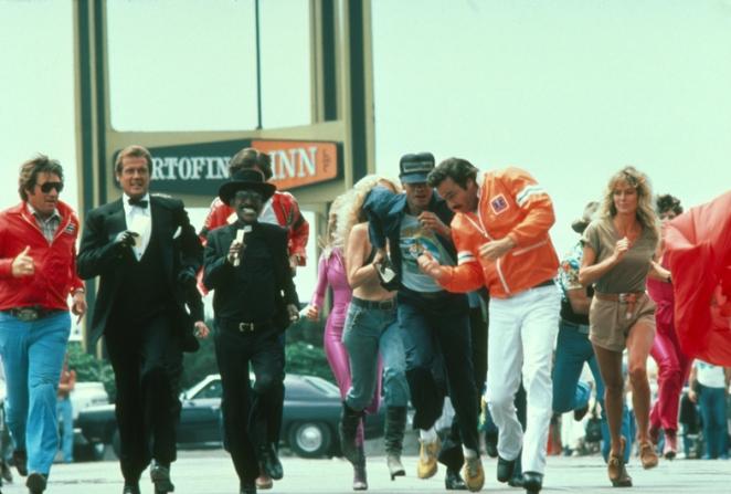 Burt Reynolds, Roger Moore