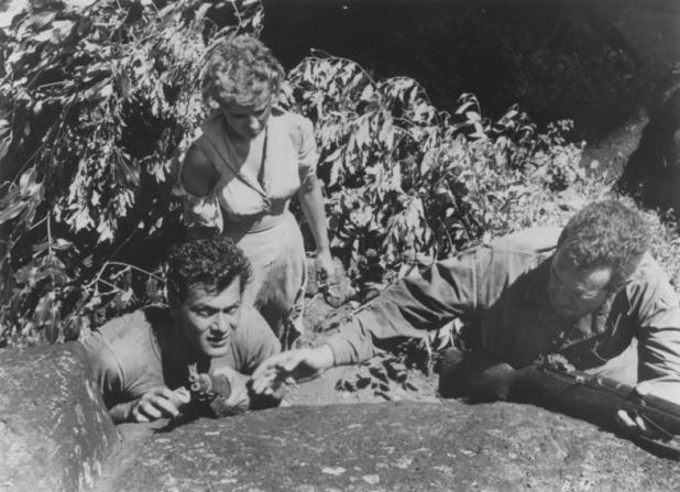 Tony Curtis, Mary Murphy, Frank Lovejoy