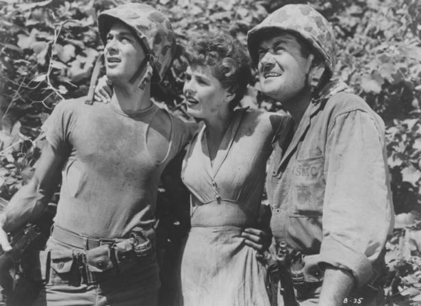 Frank Lovejoy, Tony Curtis, Mary Murphy