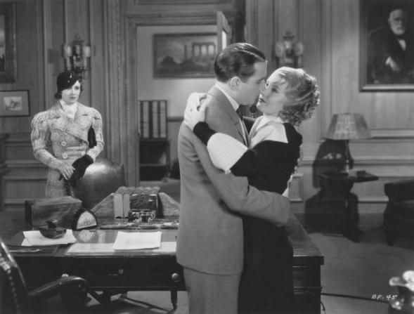Margaret Lindsay, Gordon Westcott, Barbara Stanwyck