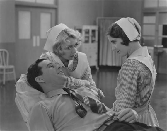 Ben Lyon, Joan Blondell, Barbara Stanwyck