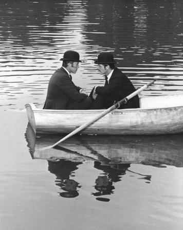 John Carson, Roger Moore
