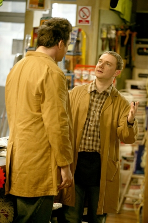 Ryan Cartwright, Martin Freeman