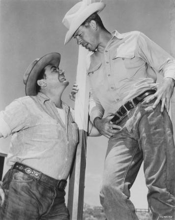 Ernest Borgnine, Lee Marvin