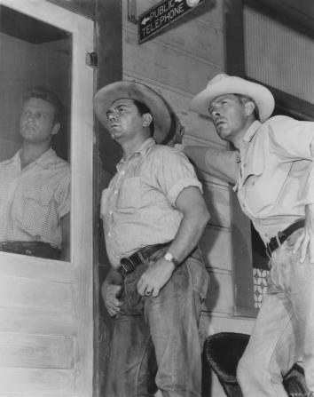 John Ericson, Ernest Borgnine, Lee Marvin