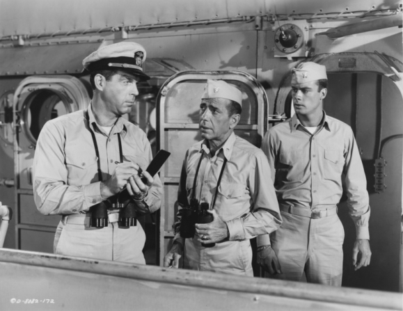 Fred MacMurray, Humphrey Bogart, Robert Francis