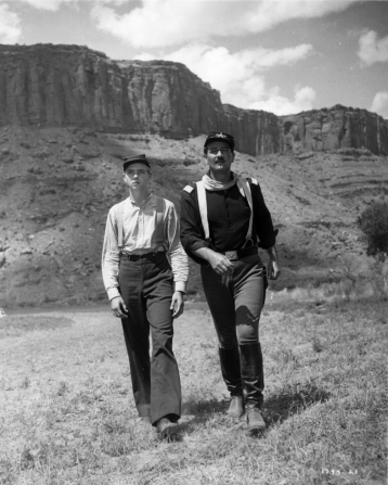 John Wayne, Claude Jarman Jr