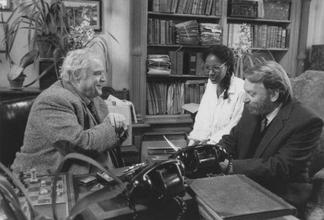 Marlon Brando, Euzhan Palcy, Donald Sutherland