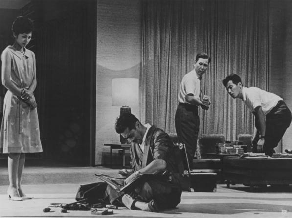 Kyôko Kagawa, Toshiro Mifune, Yutaka Sada, Tatsuya Nakadai