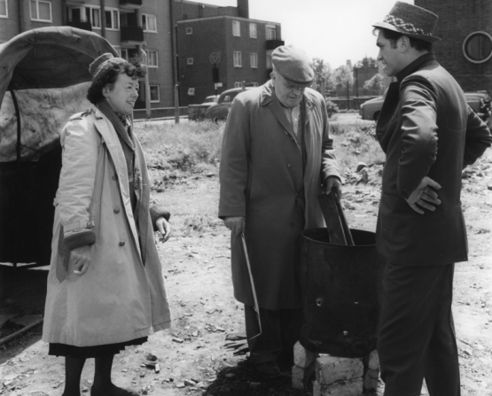 James Booth, Joan Littlewood, Wally Patch