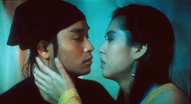 Leslie Cheung Kwok-wing, Joey Wong Cho-yin