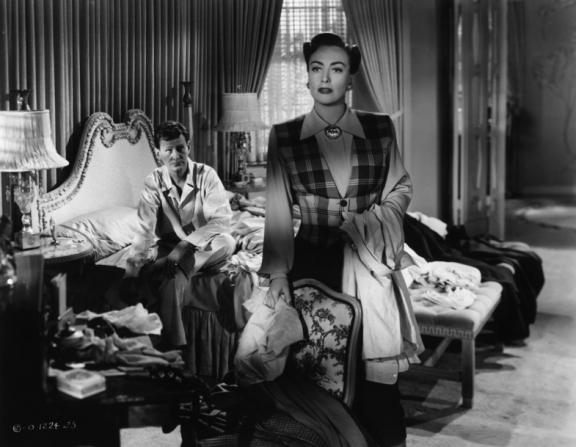 Wendell Corey, Joan Crawford