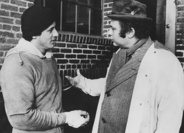 Sylvester Stallone, Burt Young