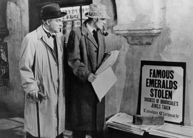 Nigel Bruce, Basil Rathbone