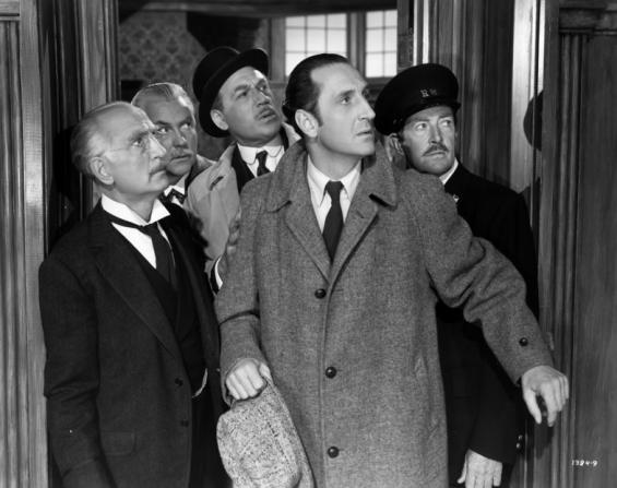 Nigel Bruce, Dennis Hoey, Basil Rathbone