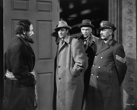 Basil Rathbone, Nigel Bruce, David Clyde, Gerald Hamer
