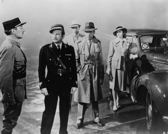 Conrad Veidt, Claude Rains, Humphrey Bogart, Ingrid Bergman, Paul Henreid