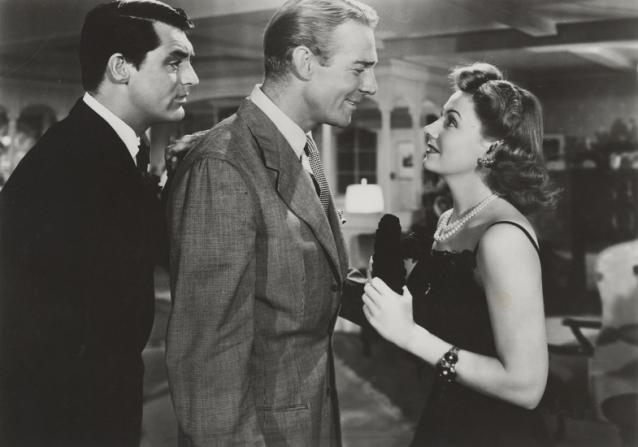 Cary Grant, Randolph Scott, Irene Dunne