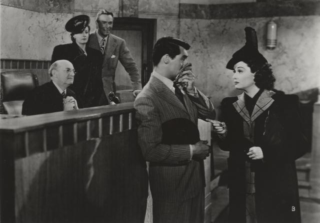 Irene Dunne, Randolph Scott, Cary Grant