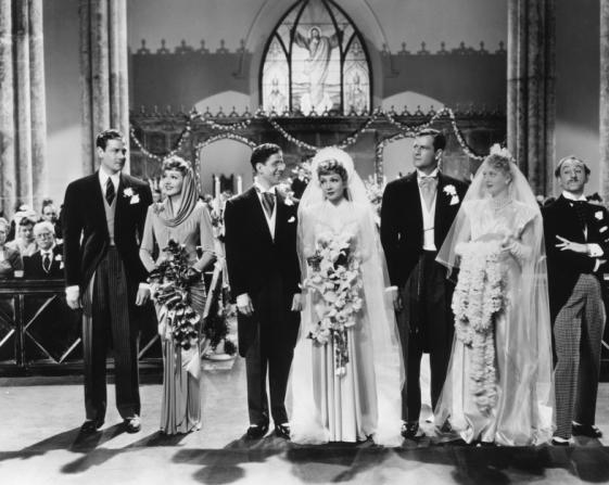 Joel McCrea, Claudette Colbert, Rudy Vallee, Mary Astor