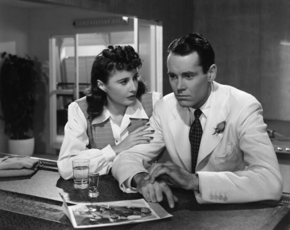 Barbara Stanwyck, Henry Fonda