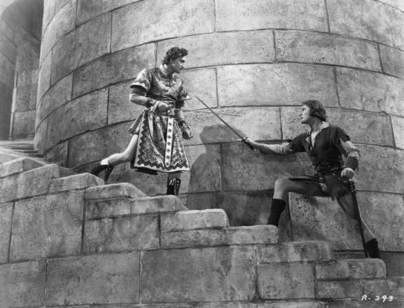 Basil Rathbone, Errol Flynn