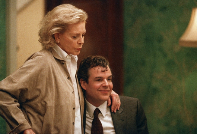 Lauren Bacall, Danny Huston