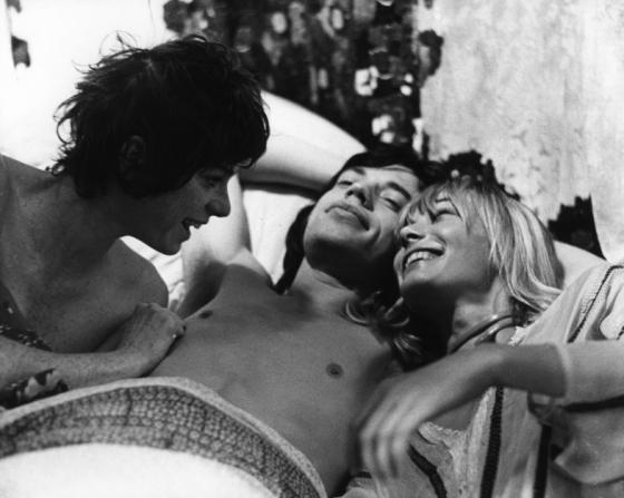 Michele Breton, Mick Jagger, Anita Pallenberg