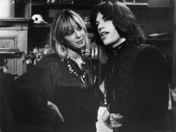 Anita Pallenberg, Mick Jagger