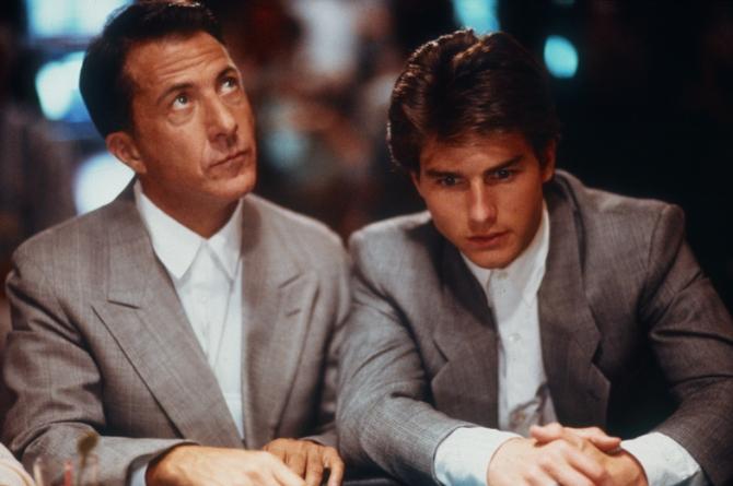 Dustin Hoffman, Tom Cruise