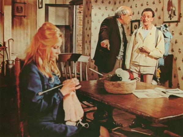 Charles Hawtrey, Derek Francis, Patricia Franklin