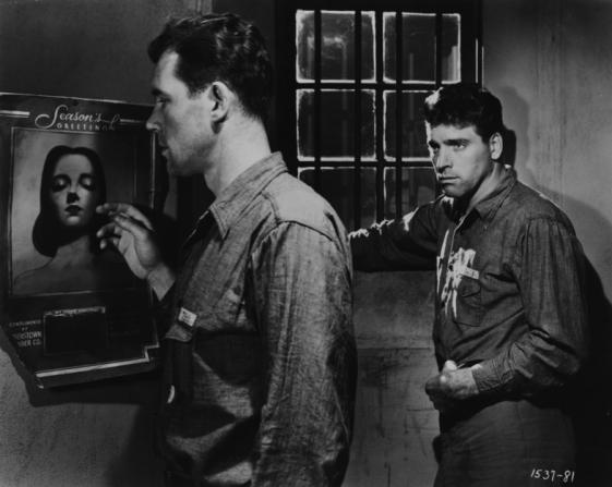 Howard Duff, Burt Lancaster
