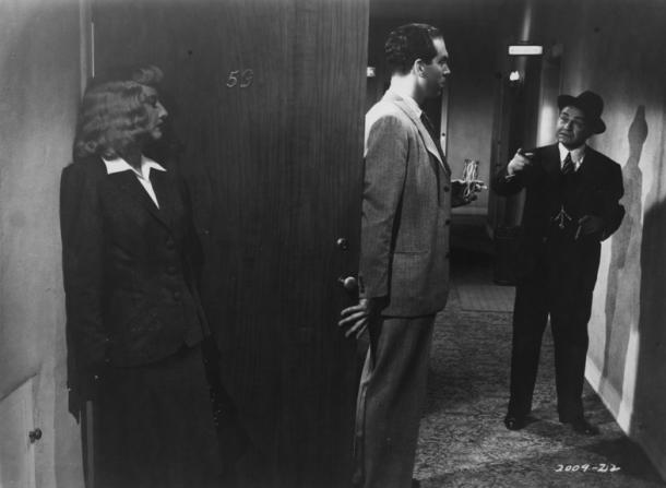 Barbara Stanwyck, Fred MacMurray, Edward G. Robinson