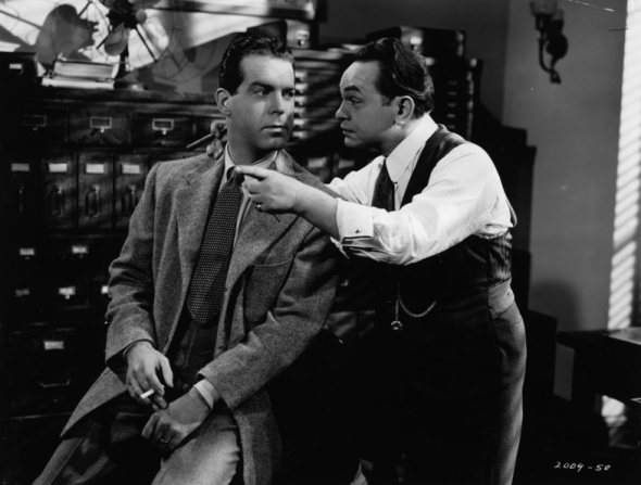 Fred MacMurray, Edward G. Robinson