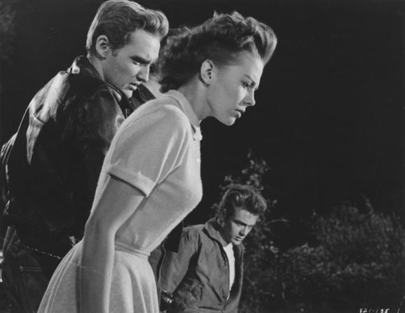 Natalie Wood, Dennis Hopper, James Dean