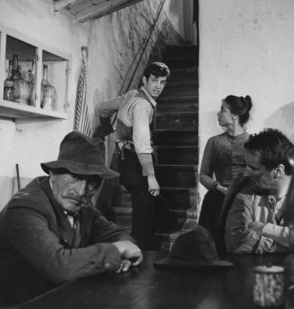 Jean-Paul Belmondo, Gabriella Pallotta, Pietro Germi