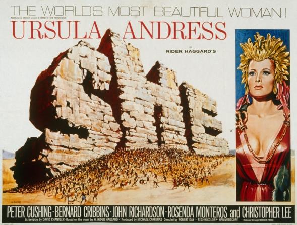 Ursula Andress, Lois Moran