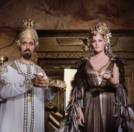 Ursula Andress, Christopher Lee
