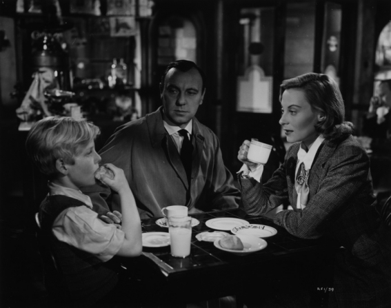 Bobby Henrey, Ralph Richardson, Michèle Morgan