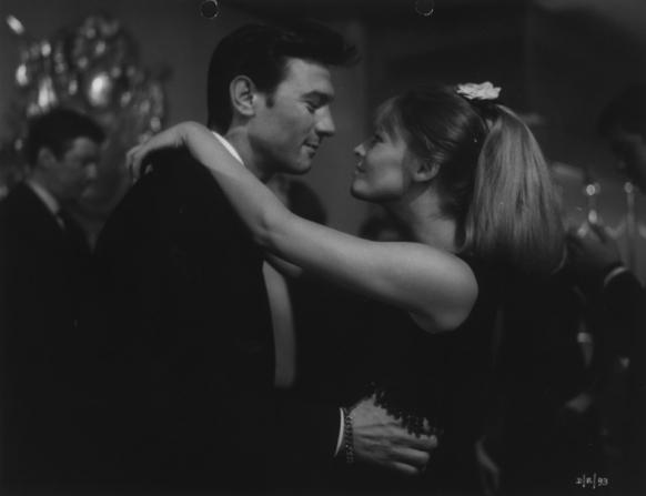 Julie Christie, Laurence Harvey