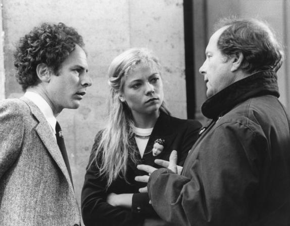 Art Garfunkel, Theresa Russell, Nicolas Roeg