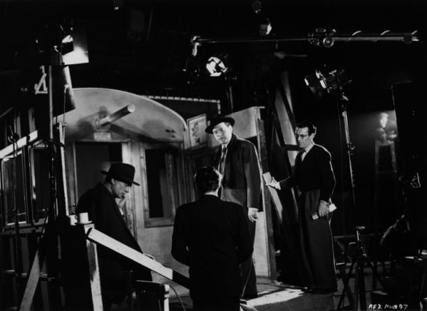 Joseph Cotten, Carol Reed, Orson Welles